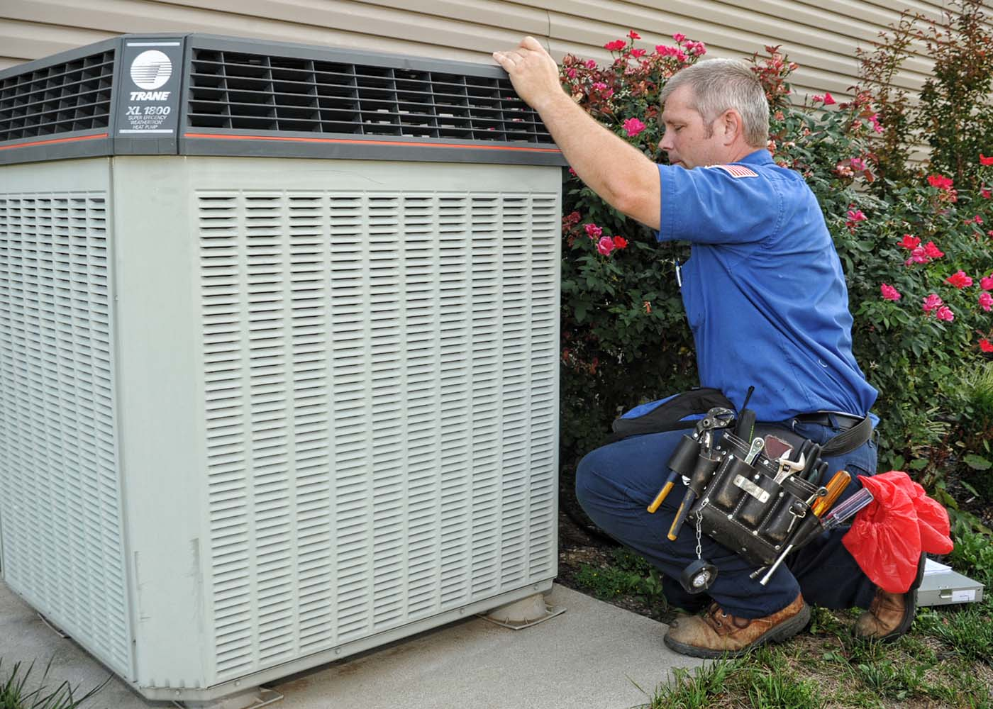 Aircon Technician — Air Conditioning Service Richmond, VA